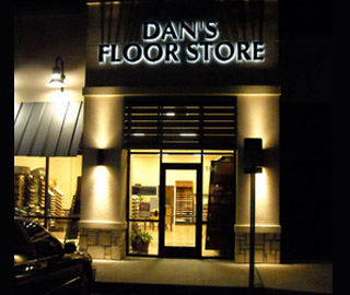 Dan's Floor Store showroom, Ponte Vedra, Florida