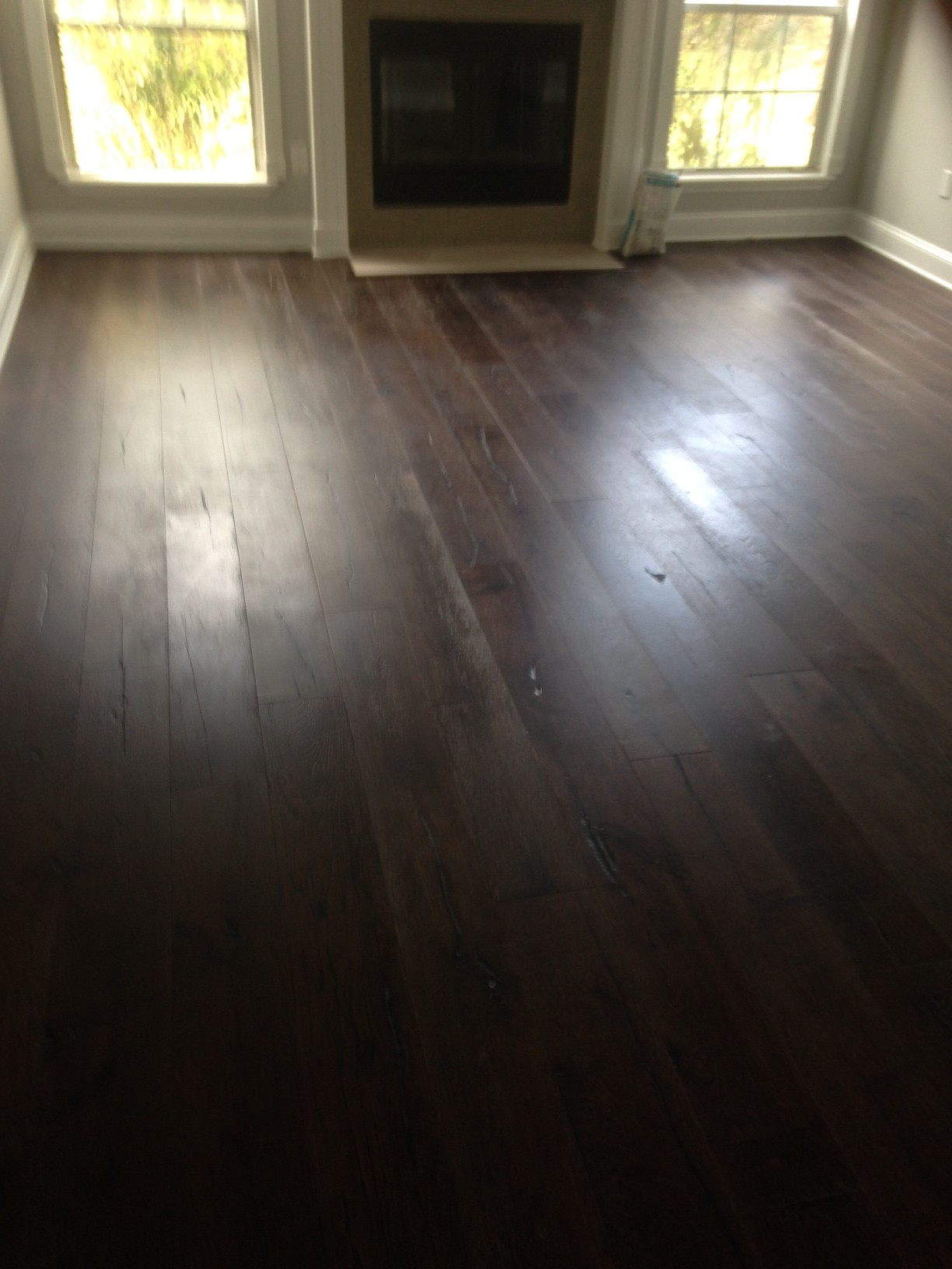 New European Oak Wood Flooring Installed