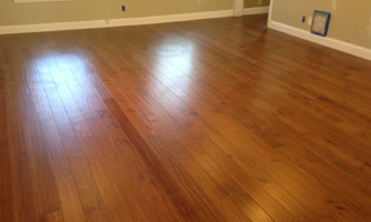 New Engineered Wood Floor in kitchen, in home in Mandarin.