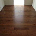 New Engineered Wood Flooring in Kitchen - Forest Accents' Timeless Textures line in Maple Tawny.