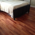 New Santos Mahogany Engineered Wood Flooring.