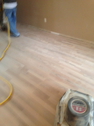 Refinishing A Cupped Wood Floor In Mandarin