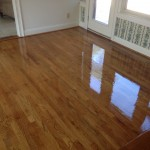 Screening and Re-coating plank and parquet flooring.
