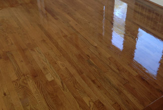 Screening and Re-coating a Wood Floor in Sawgrass Country Club