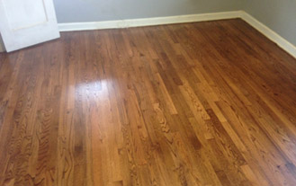 Solid Red Oak Wood Floor - San Marco - after