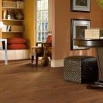 Autumn Mahogany Laminate flooring by Armstrong