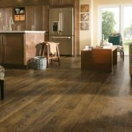 Forestry Mixed Brown wash laminate flooring by Armstrong