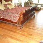 Hand scraped, Prefinished, Engineered Maple flooring.