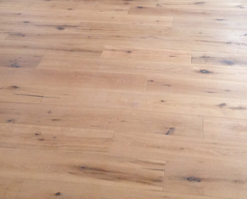 Prefinished Engineered White Oak Natural - Du Chateau