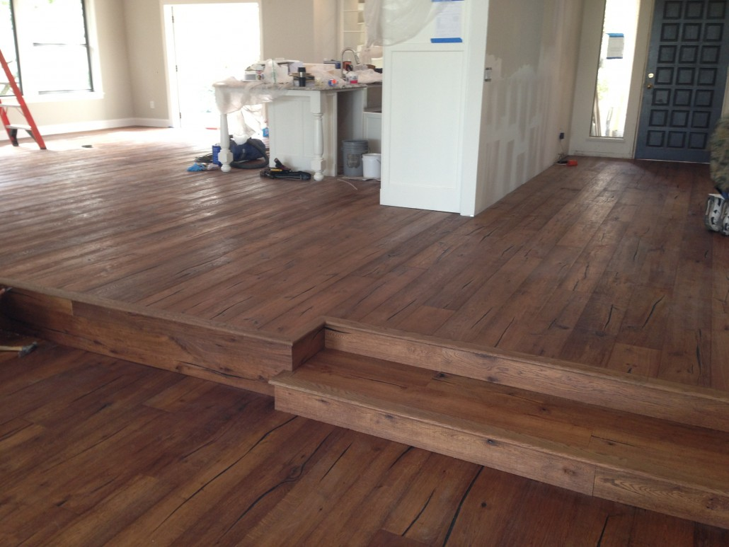 Rustic White Oak - Prefinished Engineered