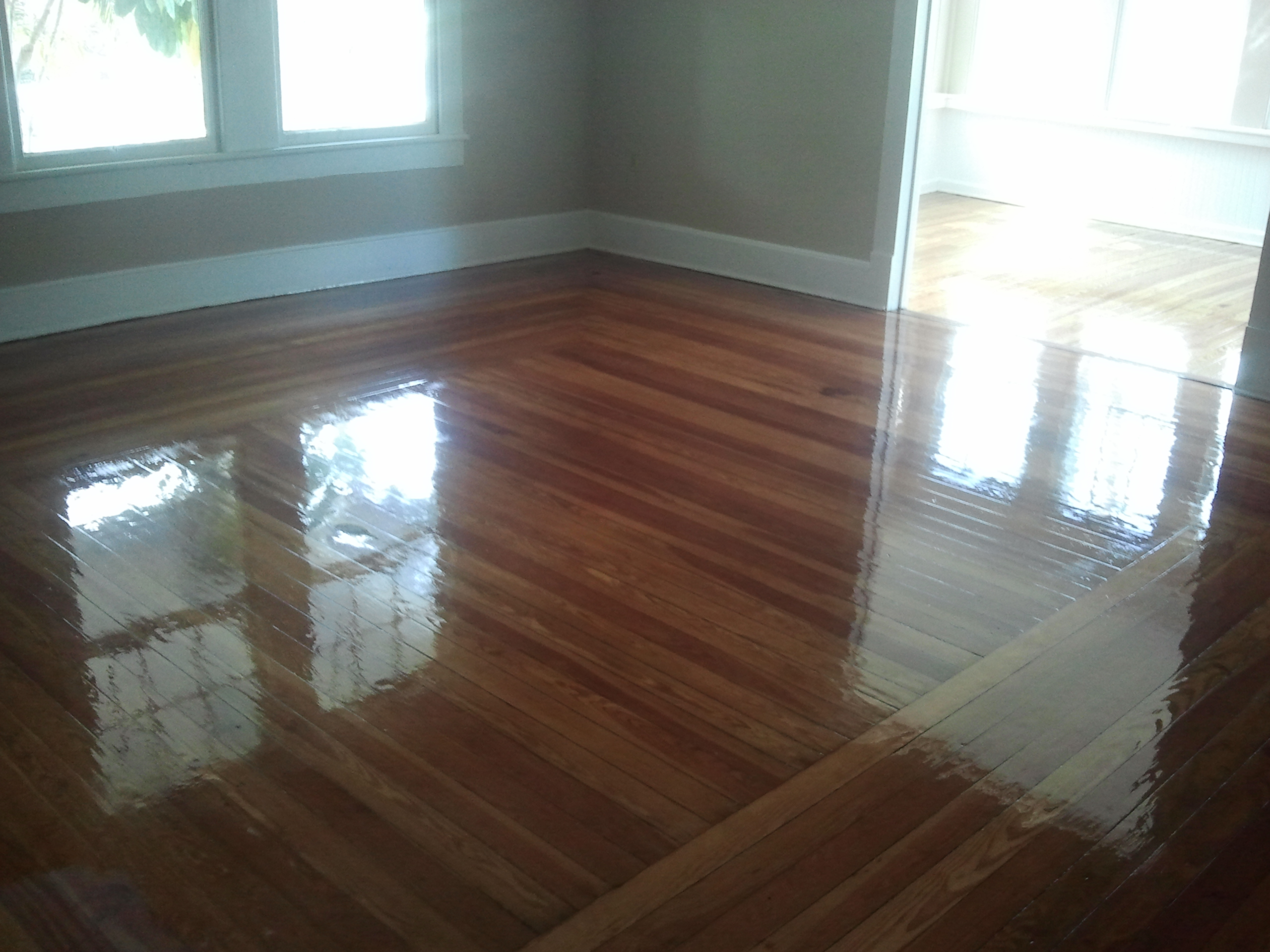 Wood floor refinishing ponte vedra jacksonville st for New home flooring