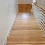 Solid White Oak treads