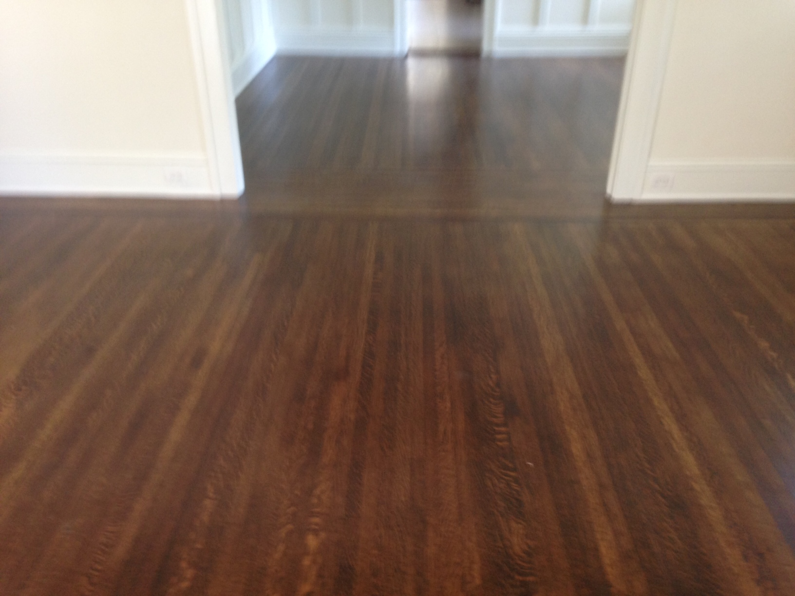 Refinishing fine old wood floors in historic riverside for Quality hardwood floors