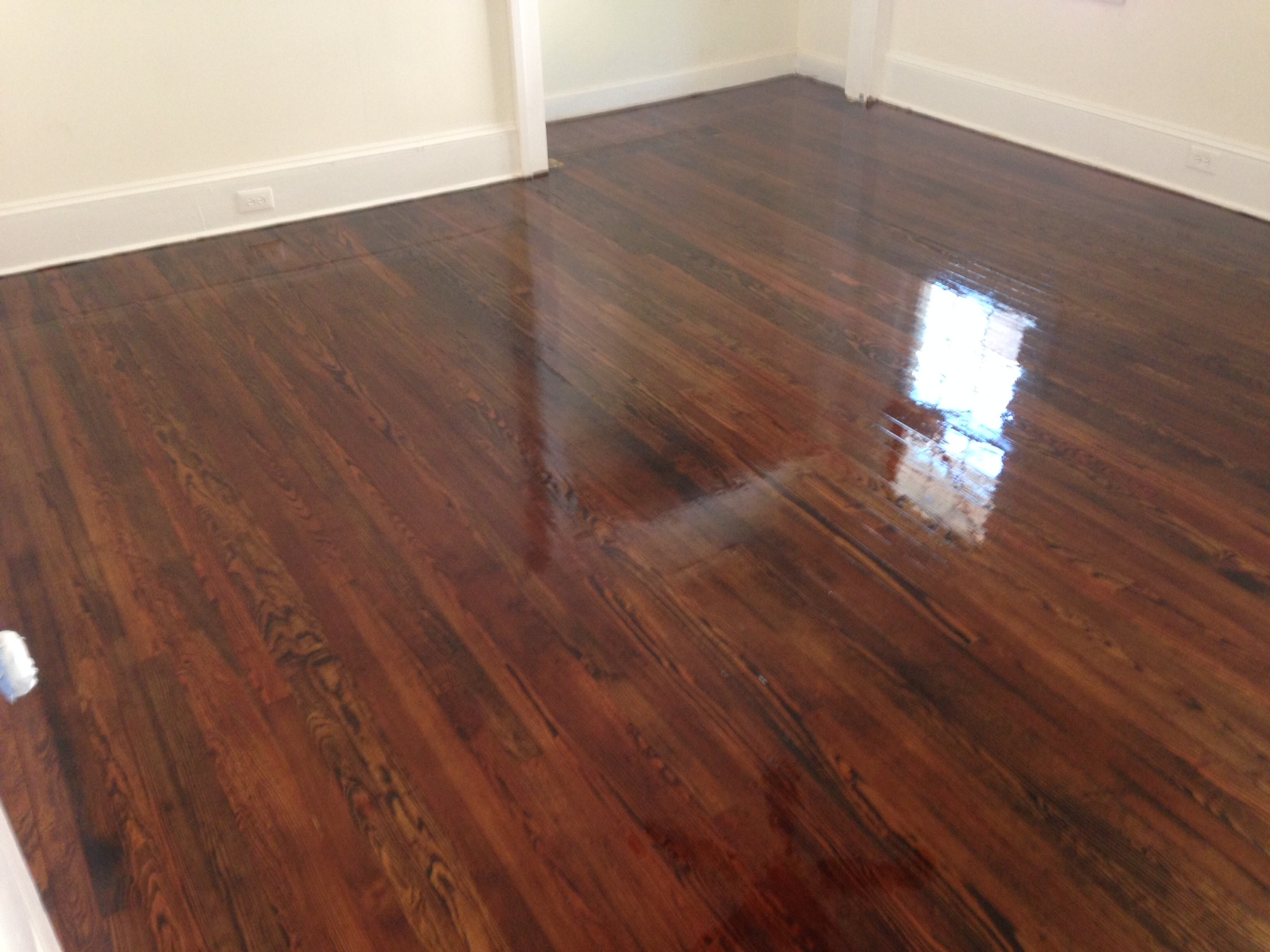 Refinish an old wood floor thefloors co for Resurfacing wood floors