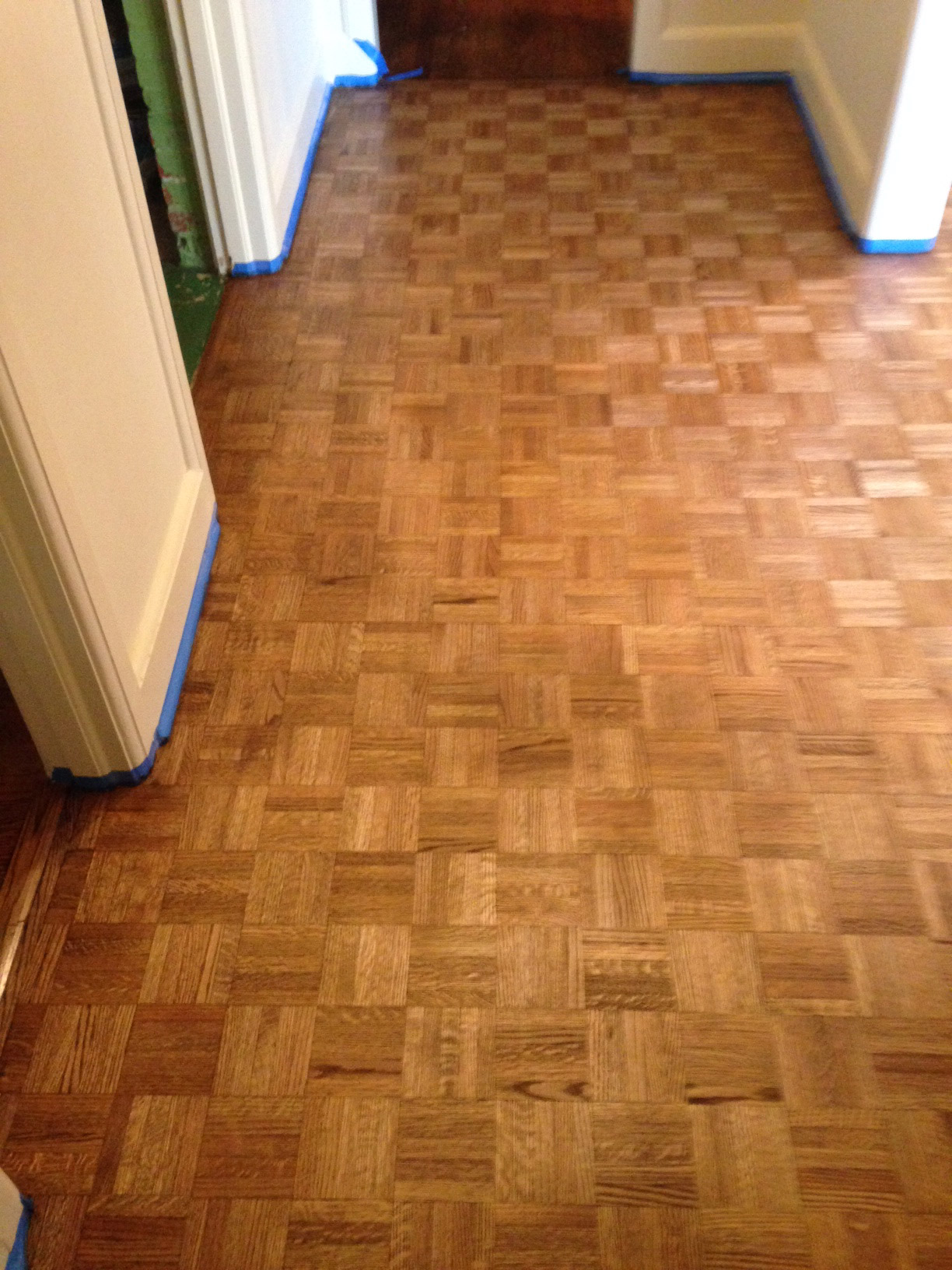 Parquet wood floor refinishing archives dans floor store refinished parquet flooring dailygadgetfo Image collections