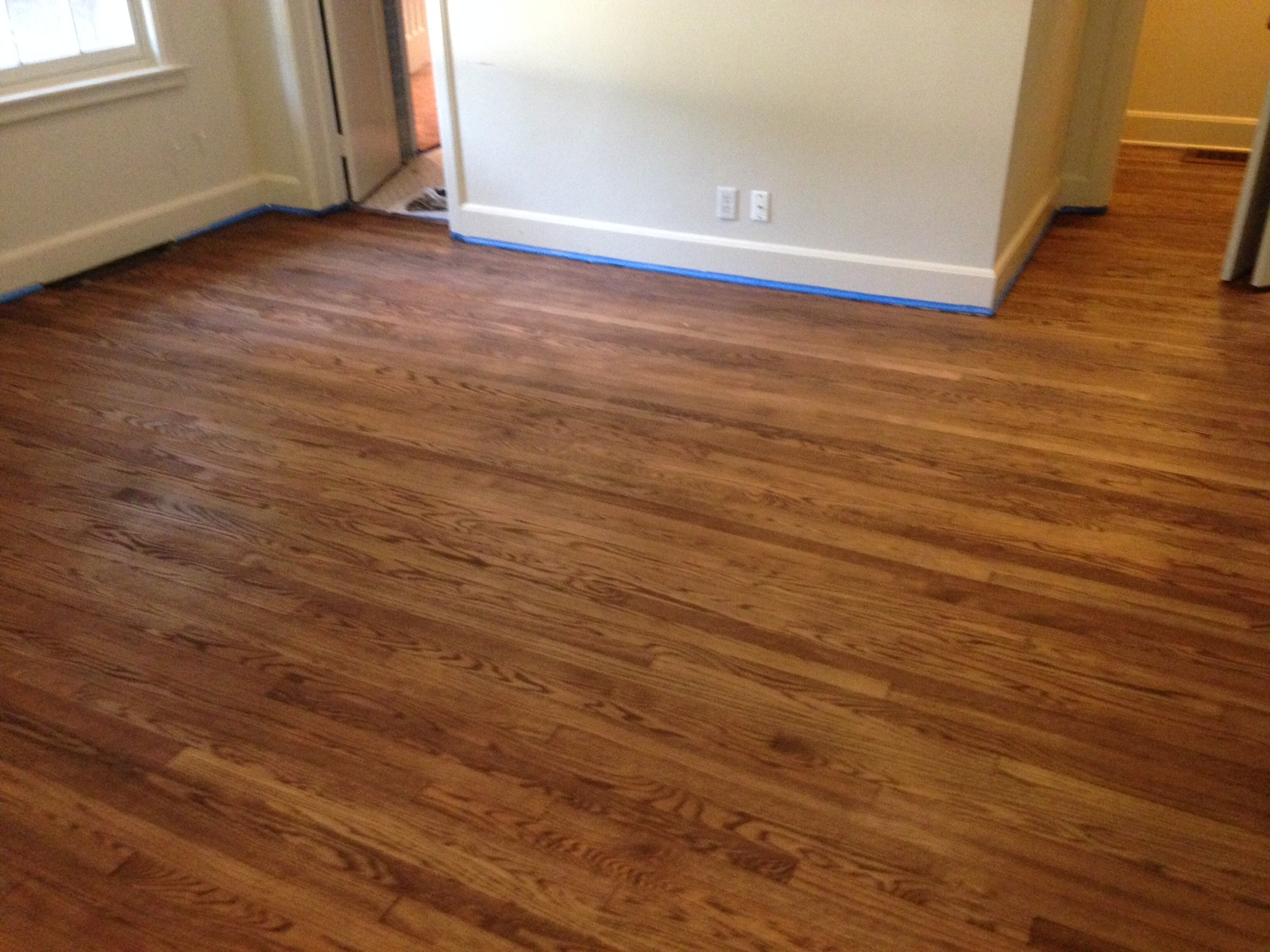 refinished solid wood flooring