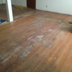 Sanding old Red Oak floors - stain and finish preparation
