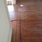 Worn, impressive wood floors in Riverside