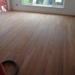 Sanded Brazilian Cherry Wood Floor in home in St. Augustine, Florida