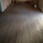 Classic Gray DuraSeal stained wood flooring with Bona Traffic satin coating