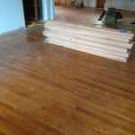 Preparing to refinish and repair wood floors