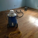 Preparing wood floors for refinishing