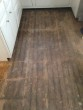 Yellow Pine Kitchen floor prior to refinishing