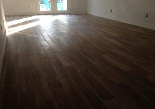 New tile installation archives dan 39 s floor store for Wood floor looking tile