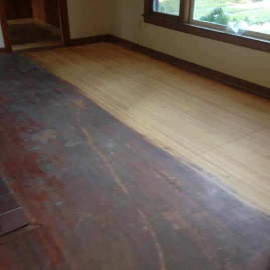 Refinishing Old Heart Pine Floors In St Augustine Dan S
