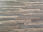 Detail of vinyl plank flooring installed by Dan's Floor Store