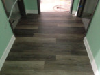 Vinyl plank flooring installed by Dan's Floor Store
