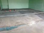 Dan's Floor Store leveling concrete slab subfloor