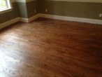 New solid Red Oak plank flooring