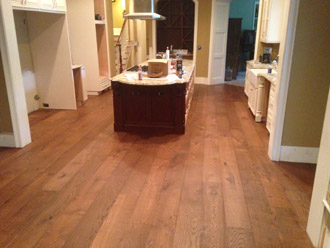 New European White Oak plank flooring