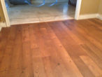 New European White Oak plank flooring
