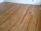 New solid White Oak select plank flooring