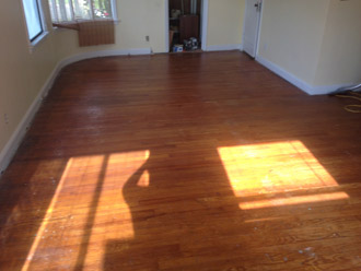 Sand And Finish Old Red Oak Floors In Neptune Beach Florida