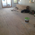 Plywood subfloor installed to APA & NWFA standards