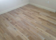 White Oak wood flooring with white stain in grain by Ark