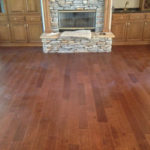 New, hand scraped maple engineered flooring by Versini