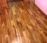 Costa Rican Teak wood flooring
