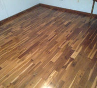 Costa Rican Teak wood flooring