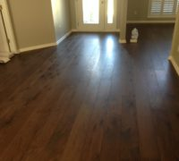 Engineered domestic Hickory wood flooring