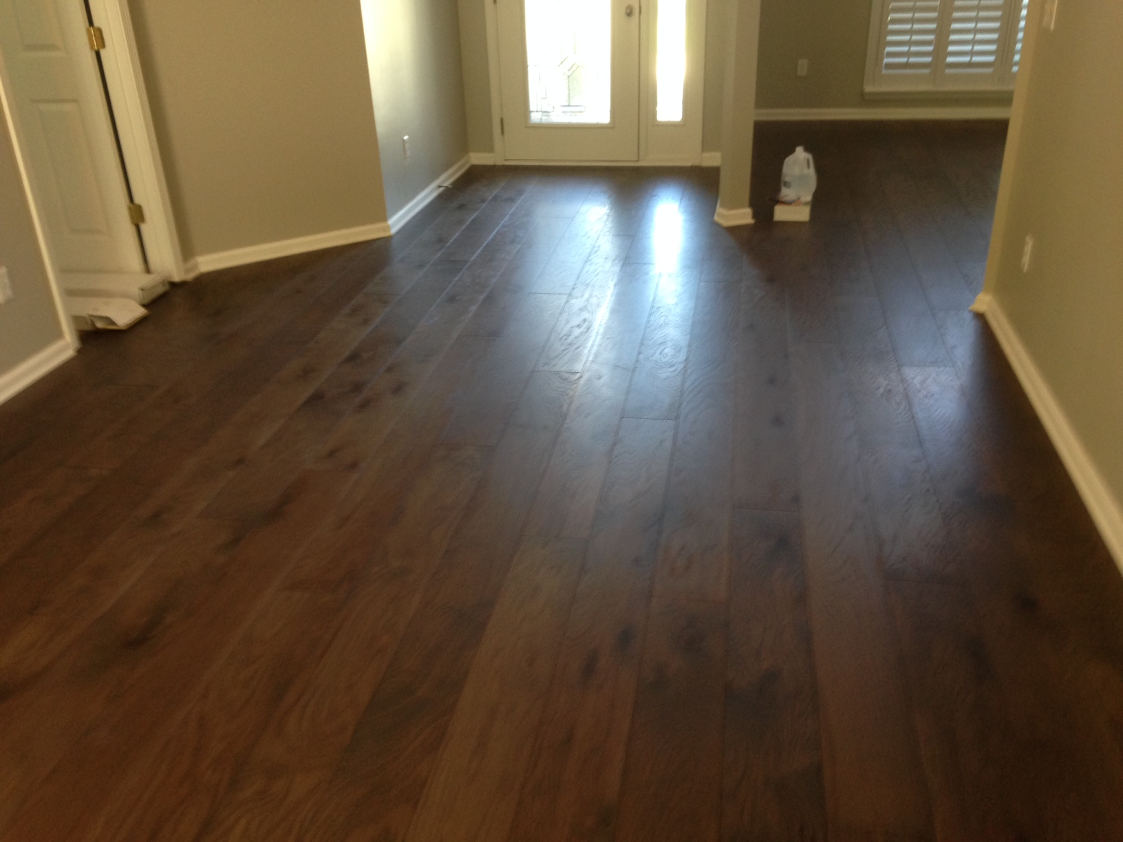 hardwood flooring stores temporary wood flooring over