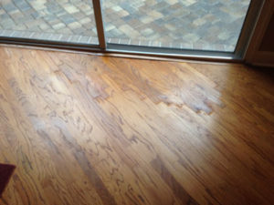 after a free danu0027s floor store and estimate this wood flooring repair job took place in a home in ponta vedra beach in the plantation oaks