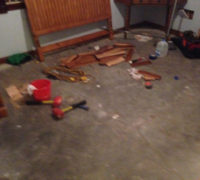 Getting concrete subfloor ready for wood floor installation