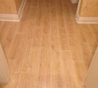 New wood-look floor tiles