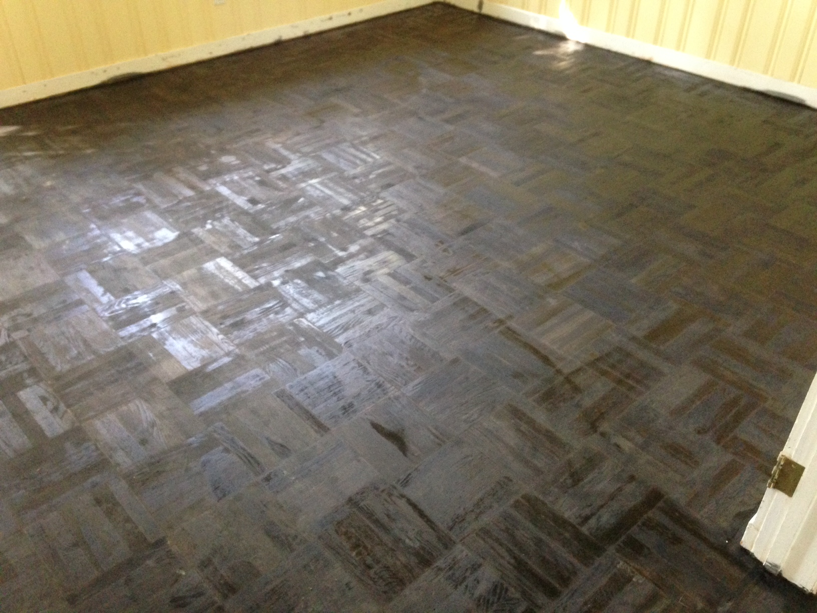 Parquet Wood Floor Refinishing In Ortega Forest In Jacksonville Fl