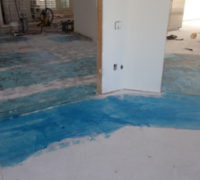 Priming subfloor