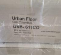 Urban flooring Oak hardwood flooring - tawny gray Columbus collection.